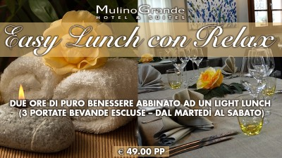 EASY LUNCH CON RELAX